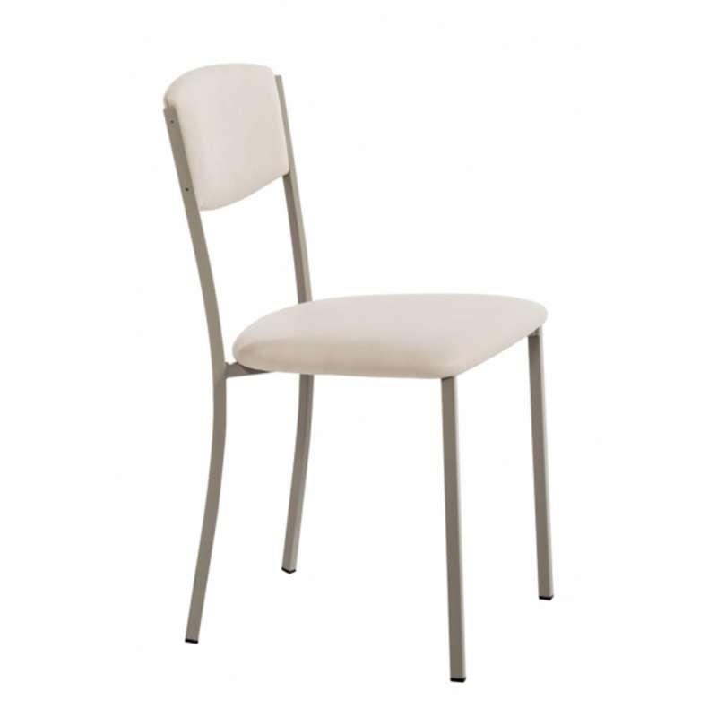 Chaise de cuisine contemporaine en synthétique et métal - Brava | 4 ...