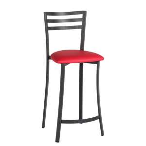 Tabouret De Bar En Mtal Assise Synthtique
