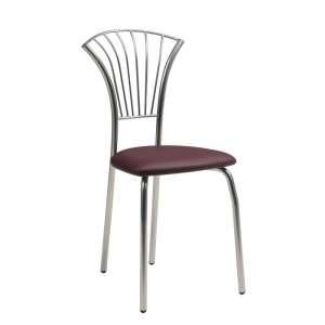 Chaise de cuisine en synthétique et métal - Solandre