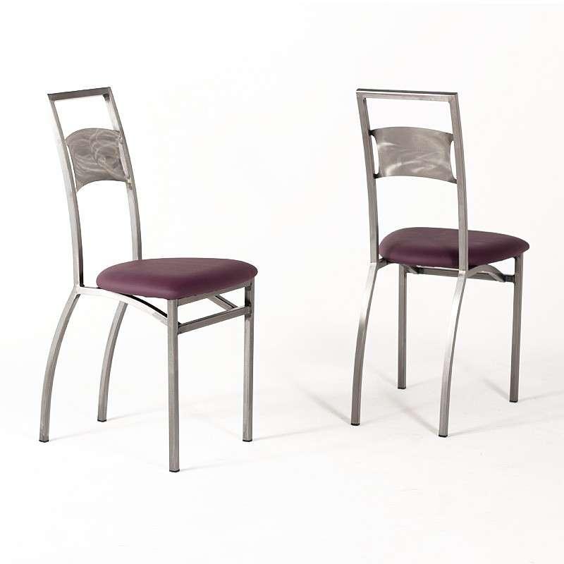 Chaise de cuisine industrielle fabrication fran aise for Chaise francaise