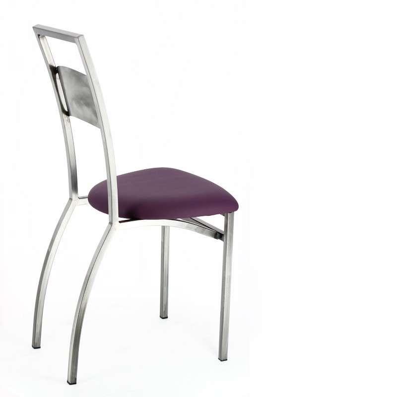 chaise de cuisine industrielle liane 4 pieds tables chaises et tabourets. Black Bedroom Furniture Sets. Home Design Ideas