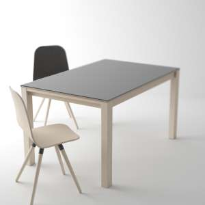 Table en verre extensible - Table Quadra 3