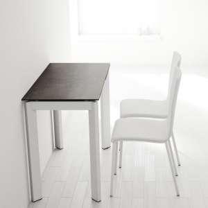 Table petit espace extensible en céramique - Poker 3