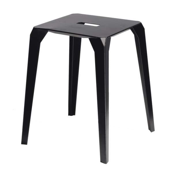 tabouret bas ext rieur en m tal valence 4. Black Bedroom Furniture Sets. Home Design Ideas