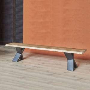 Banc design en bois fabrication européenne - Forest