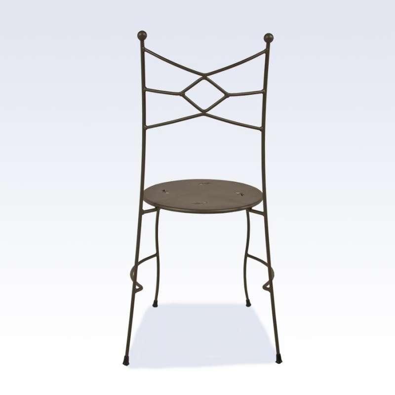 chaise en m tal seringua 4 pieds tables chaises et tabourets. Black Bedroom Furniture Sets. Home Design Ideas