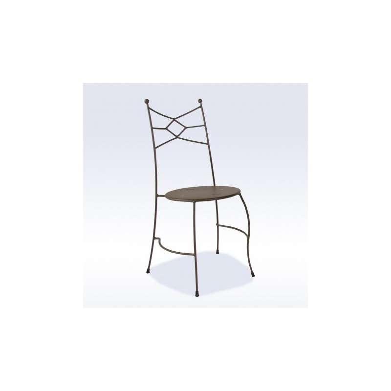 chaise de jardin en m tal seringua 4 pieds tables. Black Bedroom Furniture Sets. Home Design Ideas