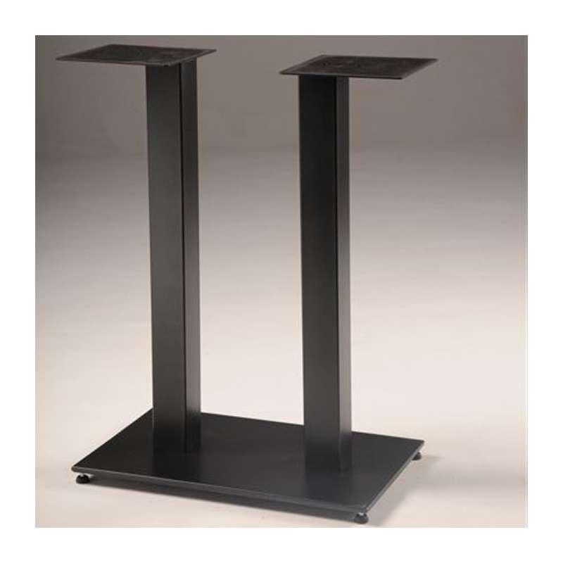 Pied de table central en m tal base rectangulaire square - Pied central pour table ...