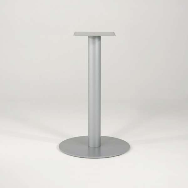 Pied de table central en métal base ronde - Round