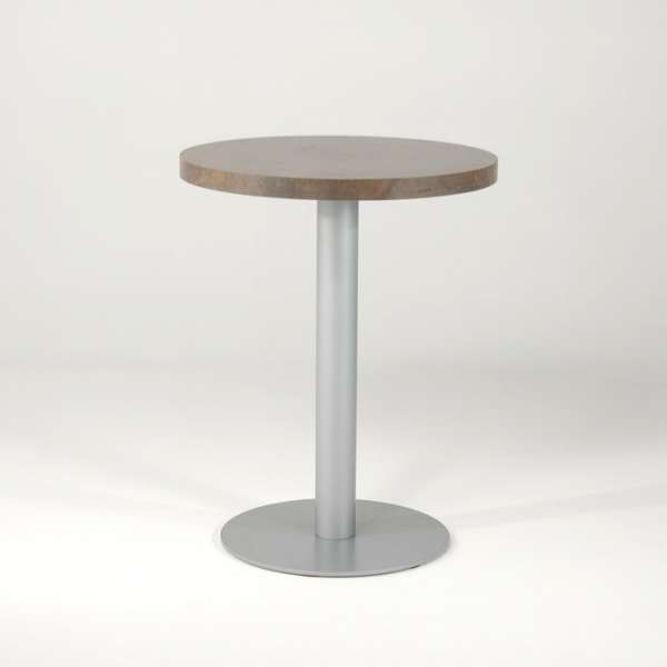 pied de table central en m tal base ronde round 4. Black Bedroom Furniture Sets. Home Design Ideas