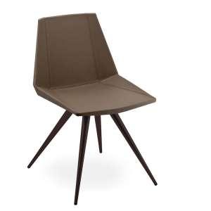 Chaise design en synthétique et métal - Glim 1361