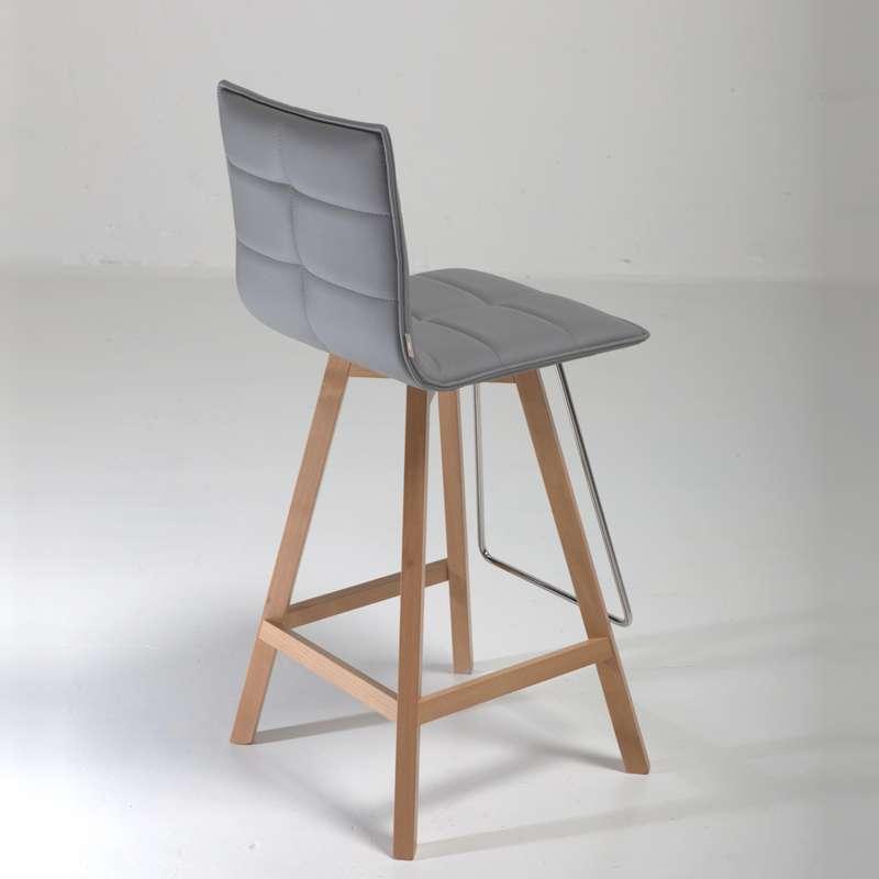 tabouret snack moderne en bois et synth tique iris 4. Black Bedroom Furniture Sets. Home Design Ideas