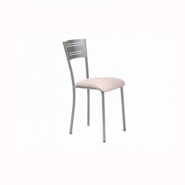 chaise de cuisine contemporaine en synth tique et m tal hera 4. Black Bedroom Furniture Sets. Home Design Ideas