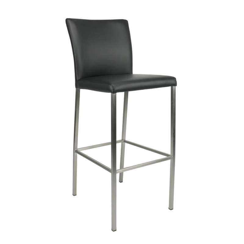 tabouret de bar contemporain en synth tique et m tal blake 4. Black Bedroom Furniture Sets. Home Design Ideas
