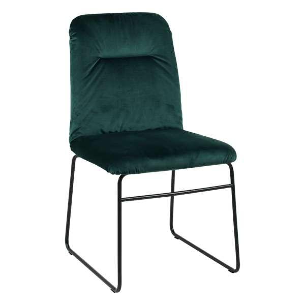 chaise de salle manger moderne en tissu greta connubia