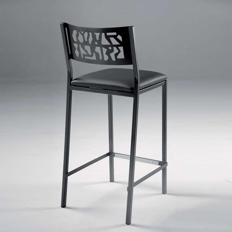 tabouret moderne snack en synth tique et m tal slide 4. Black Bedroom Furniture Sets. Home Design Ideas