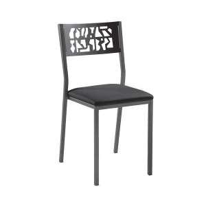 Chaise moderne en métal style industriel - Slide Industrie