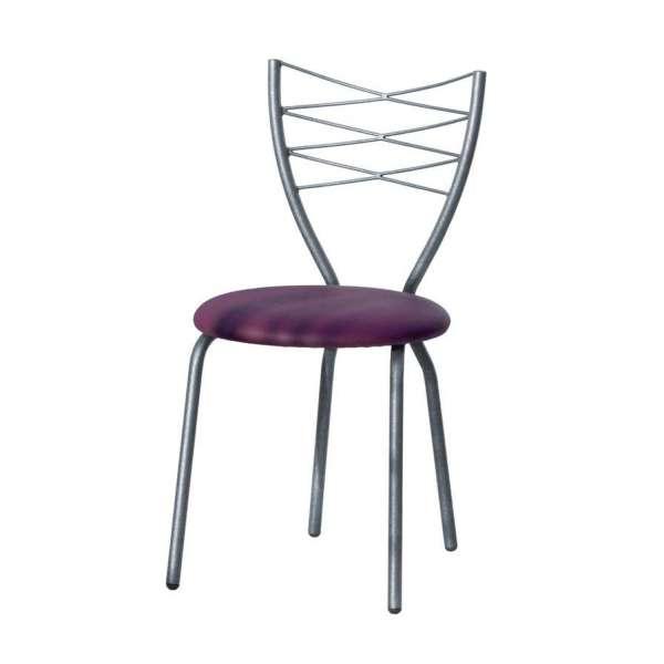chaise de cuisine fabriqu e en france en synth tique et m tal romance 4 pieds tables. Black Bedroom Furniture Sets. Home Design Ideas
