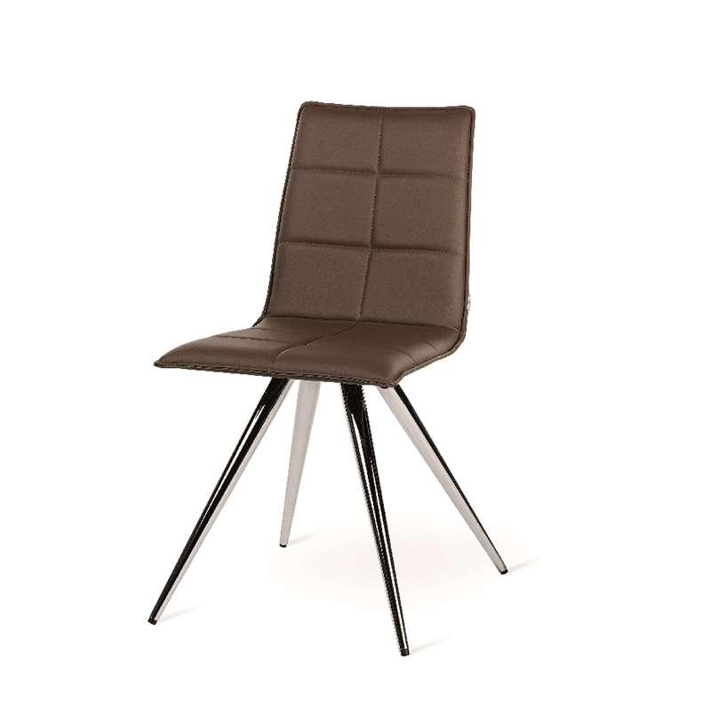 Chaise de salle manger moderne en synth tique matelass for Chaise sejour moderne
