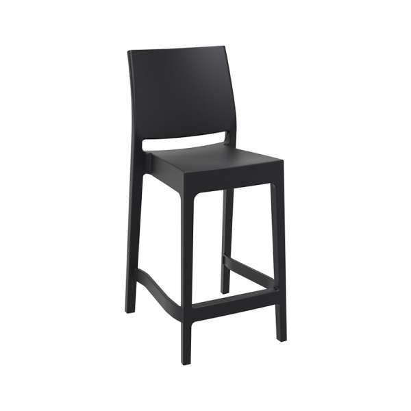 tabouret de jardin hauteur snack empilable en. Black Bedroom Furniture Sets. Home Design Ideas