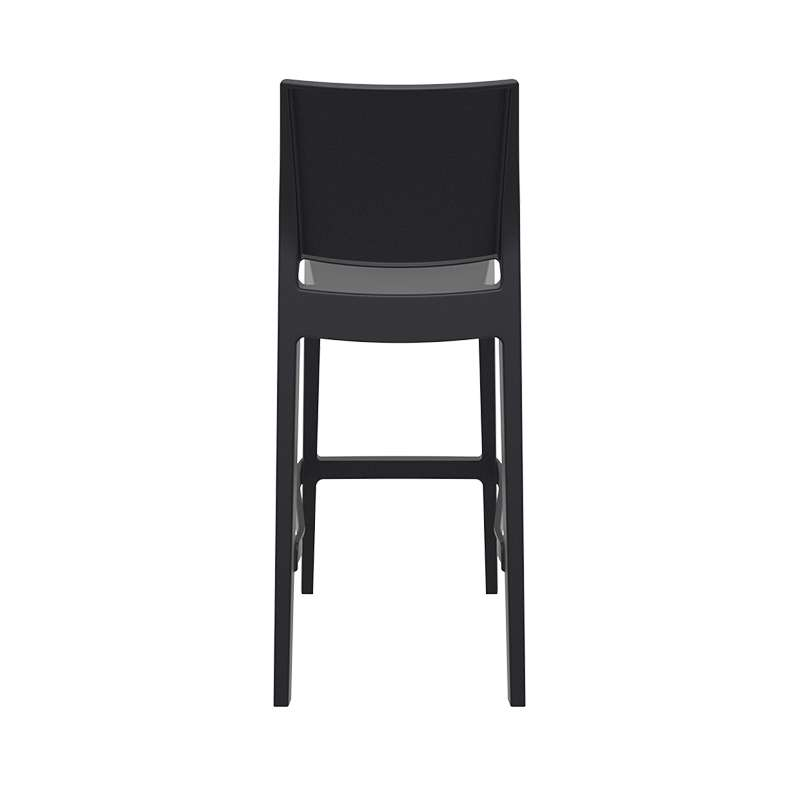 tabouret de bar d 39 ext rieur empilable en polypropyl ne. Black Bedroom Furniture Sets. Home Design Ideas