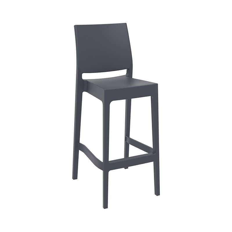 tabouret de bar d 39 ext rieur empilable en polypropyl ne maya 4. Black Bedroom Furniture Sets. Home Design Ideas