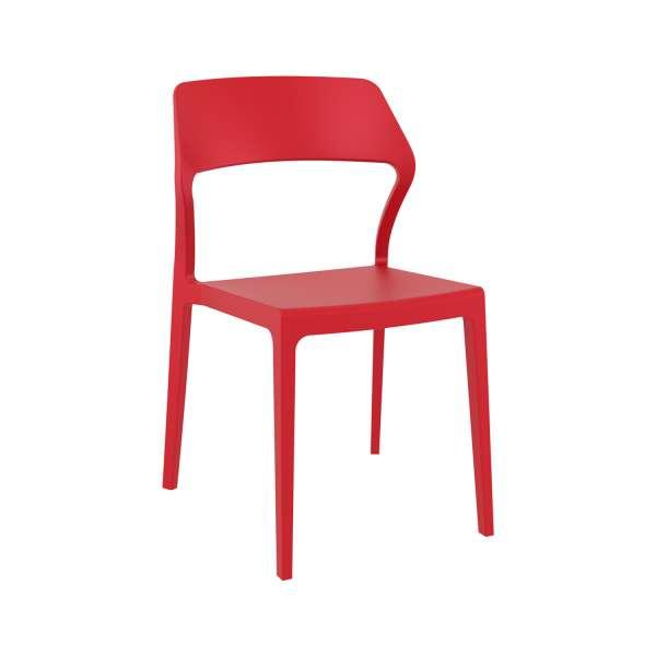 Chaise d'extérieur empilable design en polypropylène - Snow