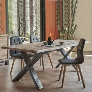 table en bois 4 pieds. Black Bedroom Furniture Sets. Home Design Ideas
