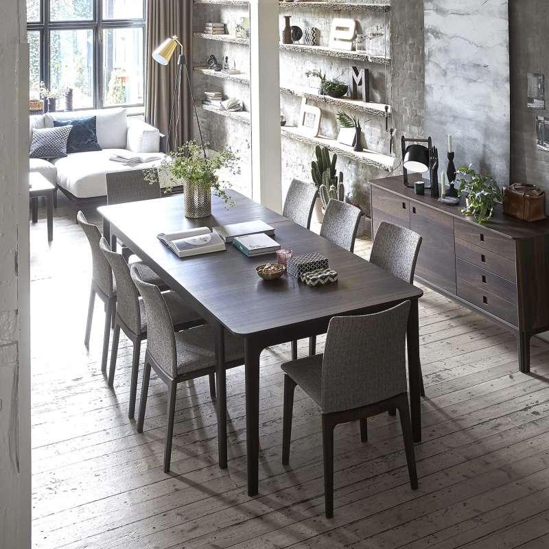 Table salle a manger wenge avec rallonge beau table salon for Salle a manger wenge