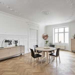 Achat de tables de salle manger en bois 4 pieds for Table ronde extensible style scandinave