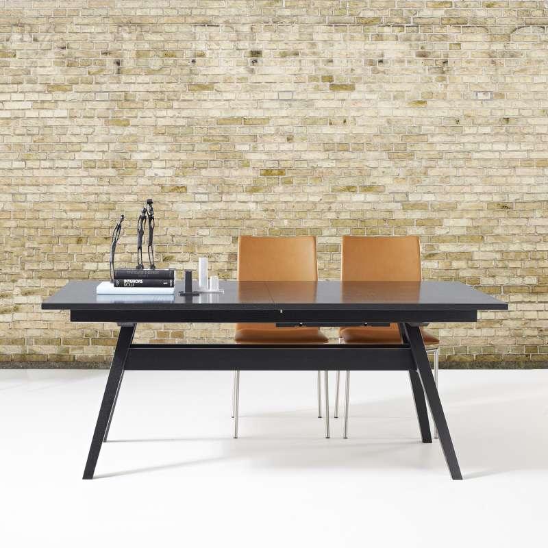 Table de s jour scandinave extensible en bois sm11 4 for Table sejour extensible