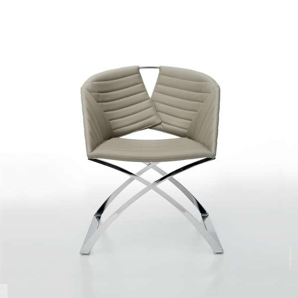 fauteuil design pied traineau m tal et coque synth tique portofino midj 4 pieds tables. Black Bedroom Furniture Sets. Home Design Ideas