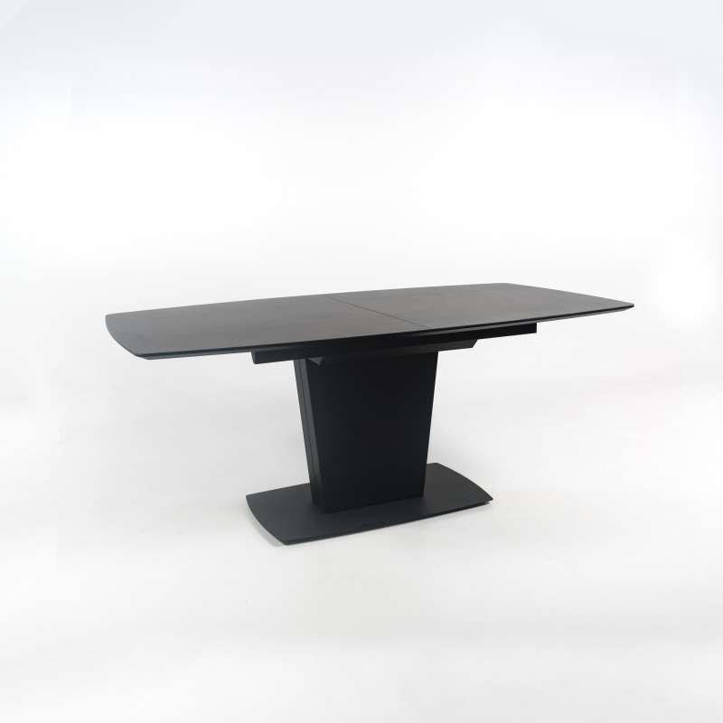 table de salle manger rectangulaire extensible en. Black Bedroom Furniture Sets. Home Design Ideas