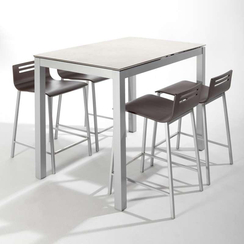 table blanche avec rallonge perfect table bois pliante lillers extensible salle jardin manger. Black Bedroom Furniture Sets. Home Design Ideas