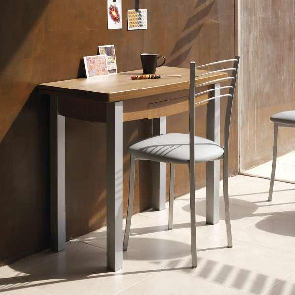 Chaise de cuisine contemporaine assise synth tique for Chaise cuisine contemporaine
