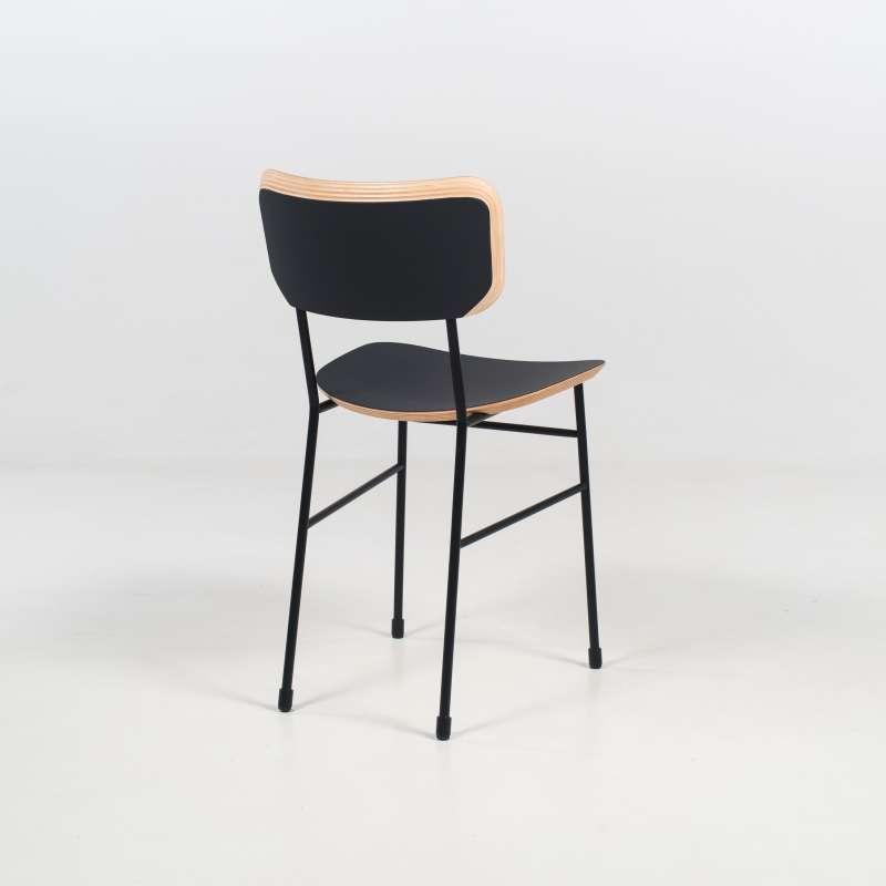 chaise r tro en f nix et m tal master s midj 4. Black Bedroom Furniture Sets. Home Design Ideas
