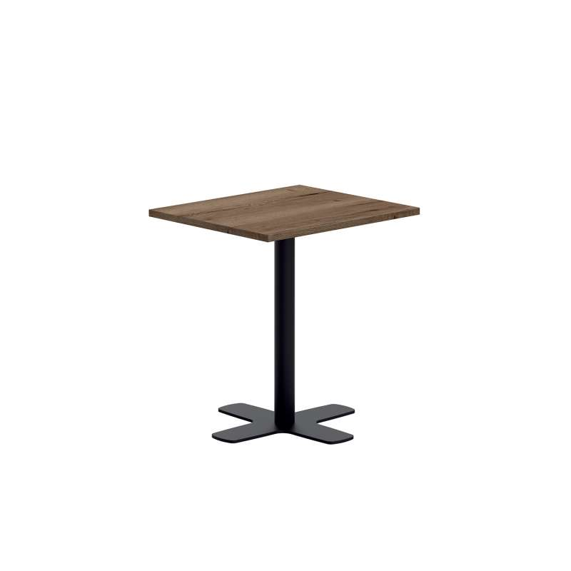 pied central de table en m tal avec base en croix spinner 4. Black Bedroom Furniture Sets. Home Design Ideas