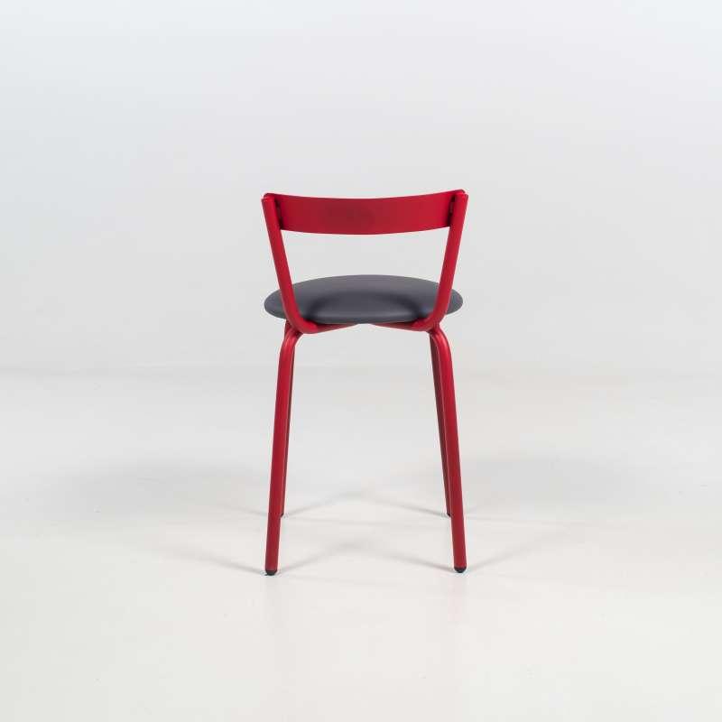 chaise de cuisine moderne de fabrication fran aise xoxo 4 pieds tables chaises et tabourets. Black Bedroom Furniture Sets. Home Design Ideas