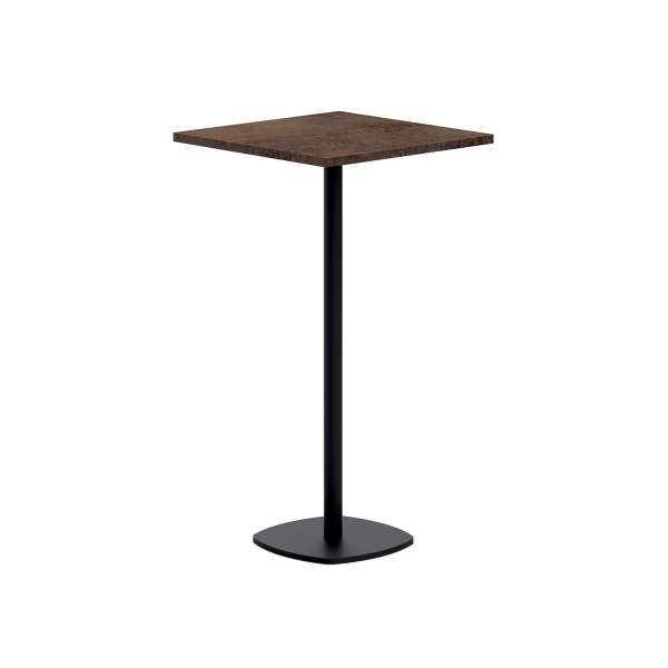 Table de cuisine carr e mange debout 60 x 60 cm en for Table cuisine 60 x 80