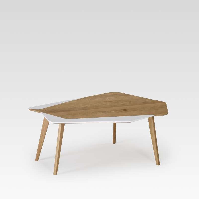 Table basse scandinave en bois massif fabrication française - Flo 71 ...