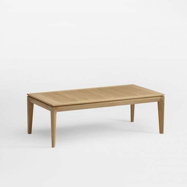 Table basse rectangulaire en bois avec tiroir fabrication française ...