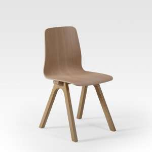 Chaise De Designer En Bois Naturel Fabrique France