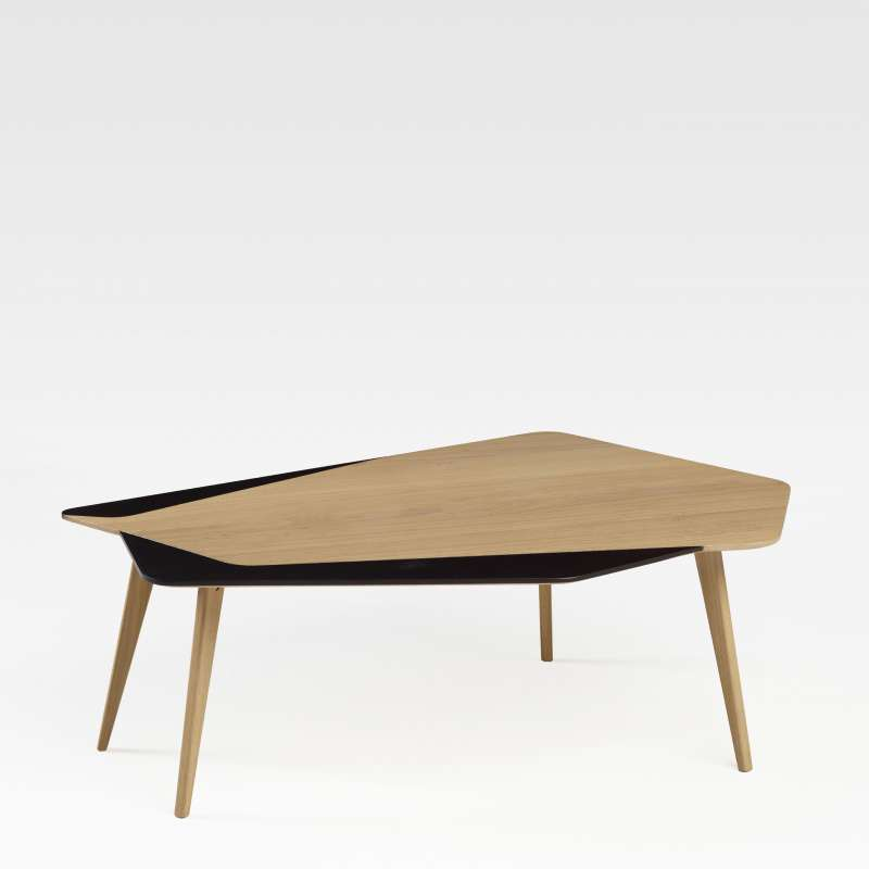 Table basse scandinave en bois massif fabrication fran aise flo 71 4 for Table basse style mexicain