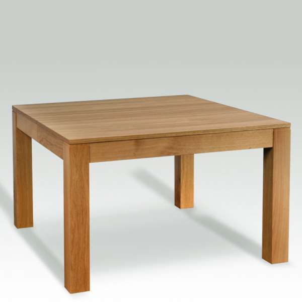 table en bois massif carr e extensible moderne mc 4