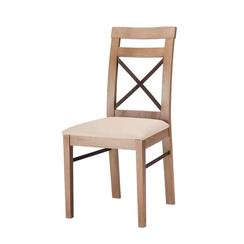 chaise rembourr e fabriqu e en france structure bois et dossier croisillon fabrik 4 pieds. Black Bedroom Furniture Sets. Home Design Ideas
