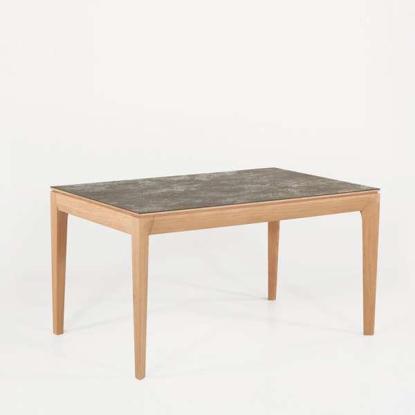 Table de salle manger fran aise extensible en c ramique for Table salle a manger en ceramique