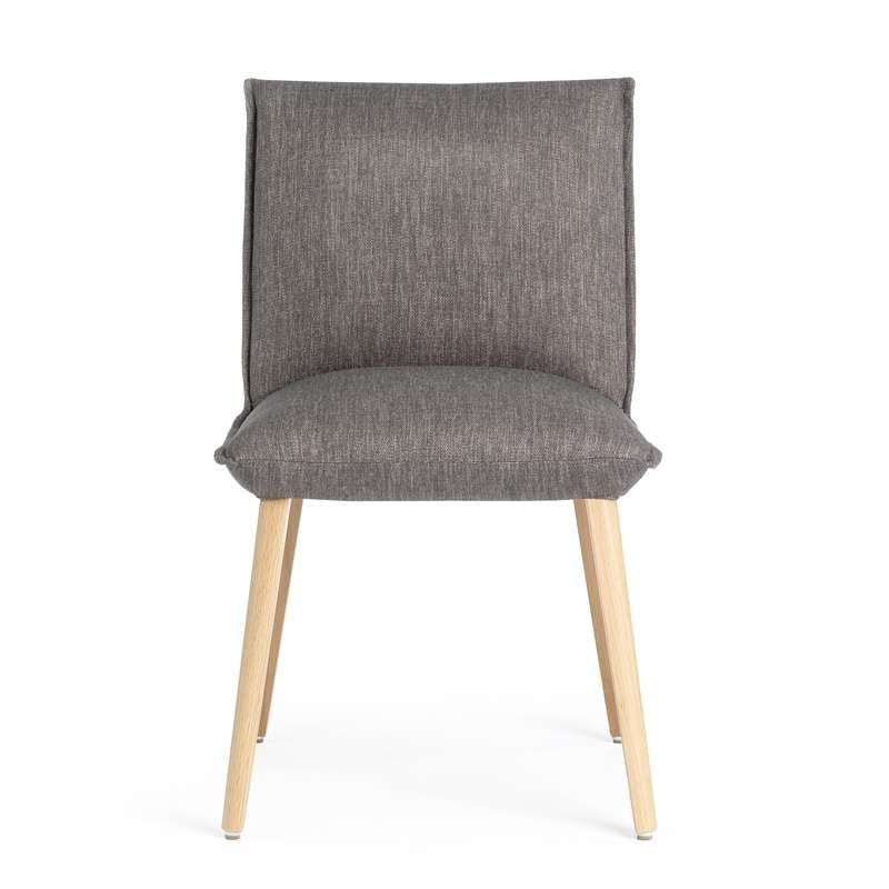 Chaise en tissu et bois cocooning Soft Mobitec