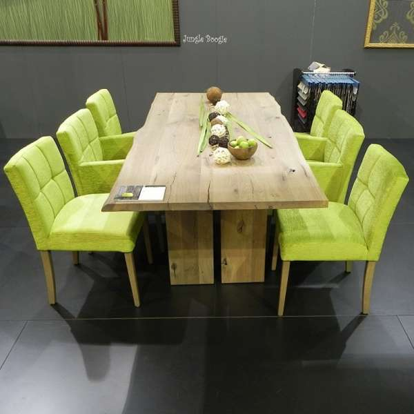 table de salle manger moderne en bois massif rustique amazone mobitec 4 pieds tables. Black Bedroom Furniture Sets. Home Design Ideas