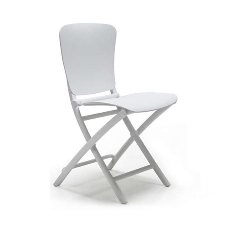 chaise de jardin pliante en polypropyl ne zac classic 4. Black Bedroom Furniture Sets. Home Design Ideas