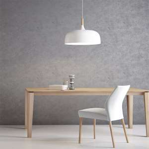 Table moderne avec allonge en bois massif - Oxford Mobitec®